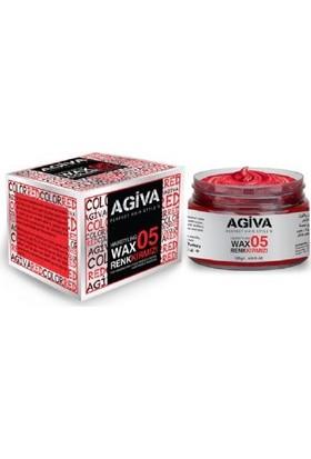Agiva Hairstyling Wax 05 Kırmızı - 120 gr