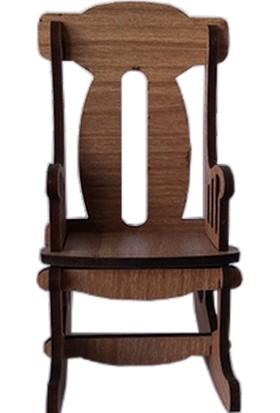 Hobi Ahşap Minaytür Sandalye