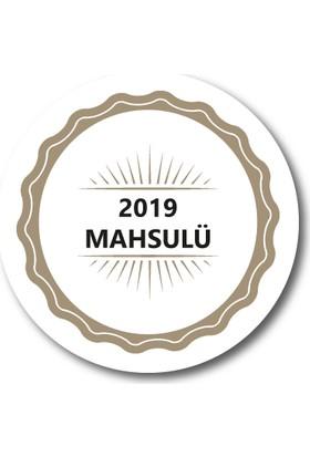 Cici 2019 Mahsul Sticker Etiket 3 x 3 cm 20li
