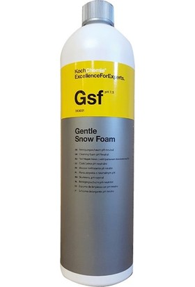 Koch Chemie Gentle Snow Foam Ph Nötr Köpük GSF 1 lt.