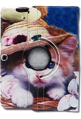 "Mopal Samsung Galaxy T530 10.1"" 360 Derece Döner Tablet Kılıfı MD21"