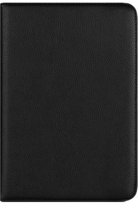 """Smart Universal 8"""" Standlı Deri Tablet Kılıfı Siyah MD128"""