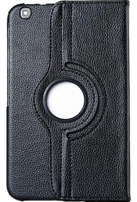 Smart Samsung Galaxy Tab T310 Deri Döner Standlı Tablet Kılıfı MD139