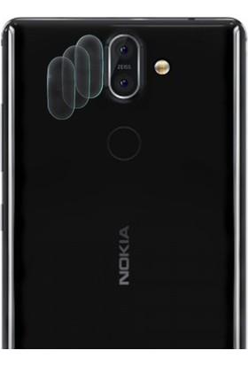 Ally For Nokia 8 Sirocco Nano Kamera Koruyucu 3 Adet Set