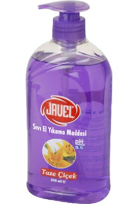Javel Sıvı El Sabunu 500 ml Taze Çiçek Kokusu Kdsc0049