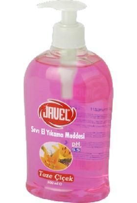 Javel Sıvı El Sabunu 500 ml Taze Pembe Çiçek Kokusu Kdsc0052