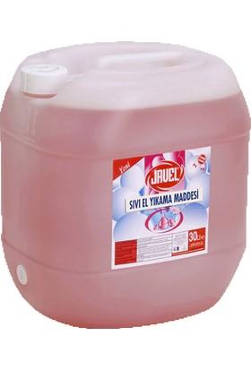 Javel Sıvı El Yıkama Maddesi Ph 5.5 30 lt Pembe Bidon Bdsc01114
