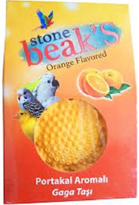 Beaks Portakal Aromalı Kuş Gagataşı İkili