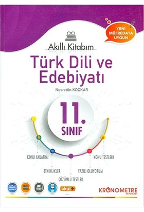 Kronometre 11. Sınıf Türk Dili Ve Edebiyatı Akıllı Kitabım