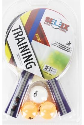 Selex WTR02 2 Raket+3 Top Masa Tenisi Seti