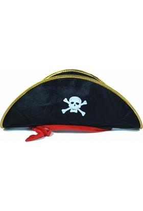 Dekorsende Korsan Şapkası Siyah