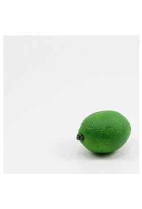 Dekorsende Yapay Meyve Mini Limon Yeşil 6 cm
