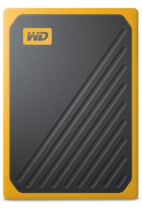WD My Passport Go 500GB 400MB/s USB 3.0 Sarı Taşınabilir SSD WDBMCG5000AYT-WESN