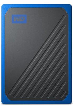 WD My Passport Go 1TB 400MB/s USB 3.0 Mavi Taşınabilir SSD WDBMCG0010BBT-WESN