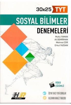 Hız Ve Renk Yayınları Tyt Sosyal Bilimler 30 X 25 Denemeleri - Mutlu Yaman