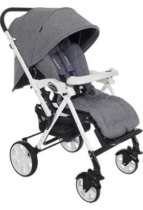 Beneto 2099 White Çift Yönlü Bebek Arabası