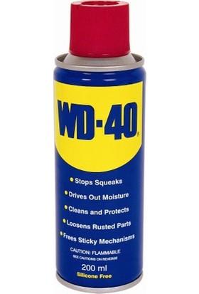 Wd-40 Koruyucu Yağlayıcı Ve Pas Sökücü Sprey 200 Ml