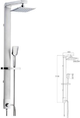 Mistillo Regard Rain Duş Sistemi - Mrs09