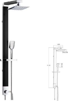 Mistillo Regard Rain Duş Sistemi - Mrs10