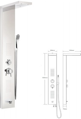 Mistillo Panel Duş Sistemi - Mxp07