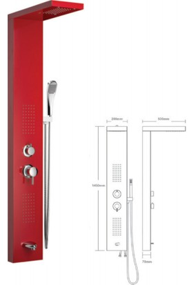 Mistillo Panel Duş Sistemi - Mxp15