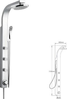 Mistillo Panel Duş Sistemi - Mxp21