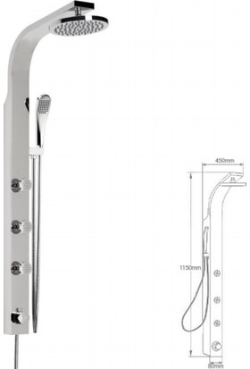 Mistillo Panel Duş Sistemi - Mxp23