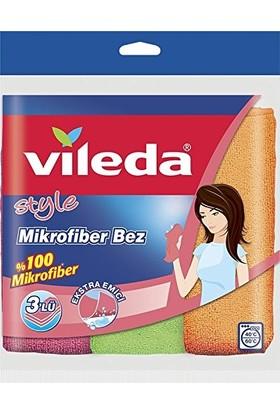 Vileda Style Mikrofiber Temizlik Bezi 3lü
