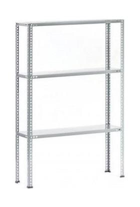 Mira Raf Çelik Raf Sistemleri - 43x93x100 3 Raflı