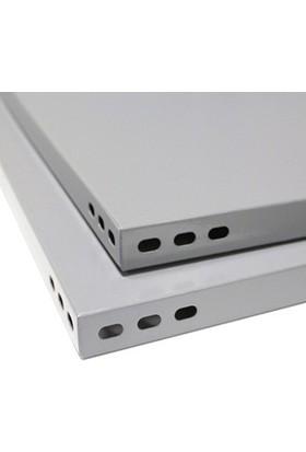 Mira Raf Çelik Raf Sistemleri - 43X93x250 5 Raflı