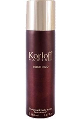 Korloff Royal Oud Deodorant 150 ml