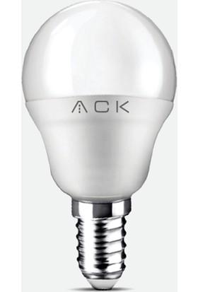 Ack Top Led Ampul 5W E-14 3000K Gunışığı Işık