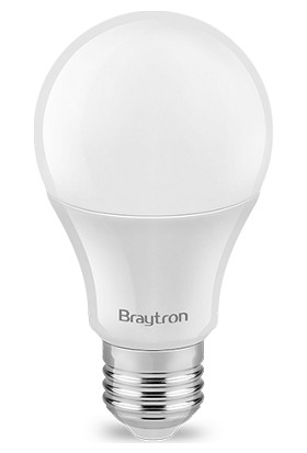 Braytron Led Ampül Normal Ampul Tipi E27 10W 3000K Gunışığı Işık Braytron