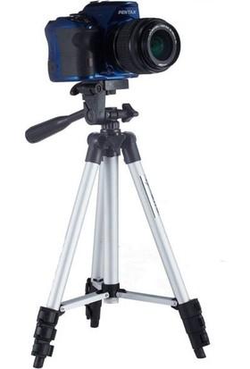 Booyse Kamera Fotoğraf Makinesi Cep Telefon Tripodu - 125Cm