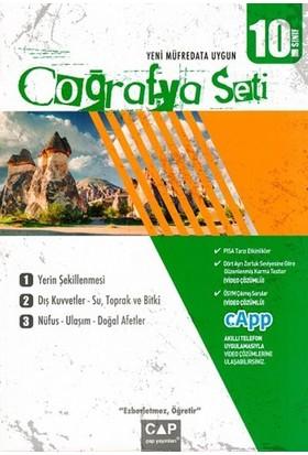 Çap Yayınları 10. Sınıf Coğrafya Seti