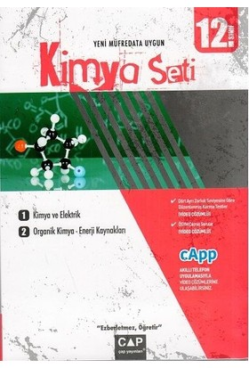 Çap Yayınları 12. Sınıf Anadolu Lisesi Kimya Seti