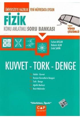 Çap Yayınları Fizik Kuvvet Tork Denge Konu Anlatımlı Soru Bankası