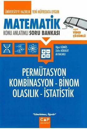 Çap Yayınları Permütasyon Kombinasyon Binom Olasılık İstatistik - Gülten Yıldırım
