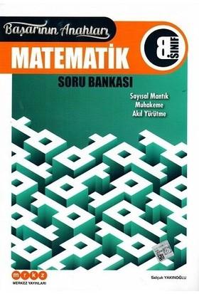 Merkez Yayınları 8. Sınıf Matematik Başarının Anahtarı Soru Bankası - Selçuk Yakınoğlu