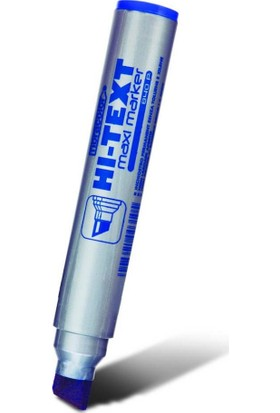 Hi-Text 840Pc Maxi Markör Mavi 12 Li Kt
