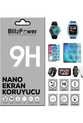 BlitzPower Apple iPhone 8 Plus Arka Nano Glass Nano Ekran Koruyucu