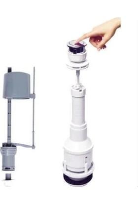 Xolo Sifon Basmalı Rezervuar İç Takım Su Tasarruflu Klozet Sifon Gider Pis Su Basmalı