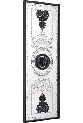 Tablo Plus Soros Mensis 4 Dekoratif Çerçeveli Ayna Siyah