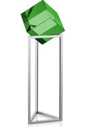 Cemile Yeşil Köşeli Dekoratif Küçük Obje