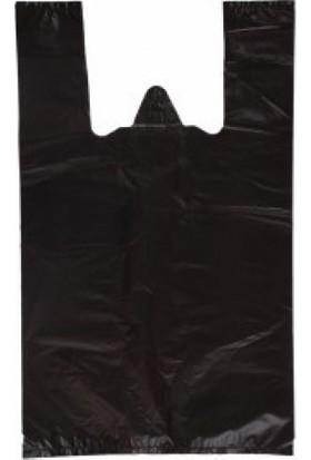 Orjin Hışır Atlet Poşet - Renk: Siyah - Orta Boy 28X50 Cm - 1 kg