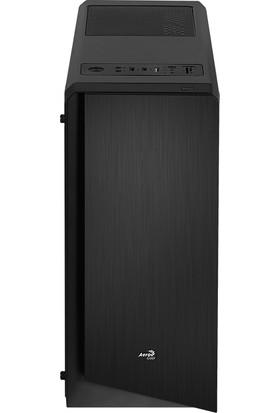 Aerocool Rift 500W Tempered Glass Midi Tower Siyah RGB Kasa (AE-RIFT-BG500)