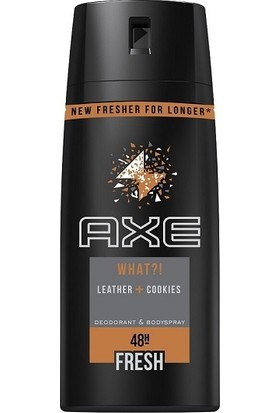 Axe Erkek Deodorant Sprey Leather & Cookies 150 ml