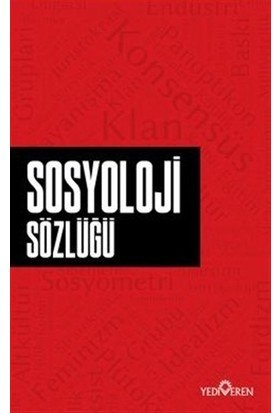 Sosyoloji Sözlüğü - Ahmet Murat Seyrek