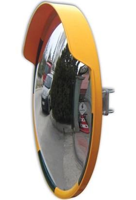 Evelux Trafik Güvenlik Aynası 80 Cm Sarı-Siyah
