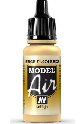 Vallejo 71074 Model Air Beige Maket Boyası